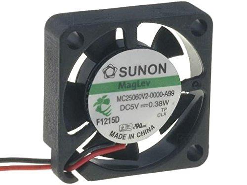 MC25060V2-A99 Fan DC axial 5VDC 25x25x6mm 4.062m3/h 23dBA Vapo SUNON