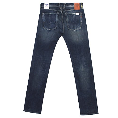 Replay, Herren Jeans Hose, Diatra Regular Slim,Stretchdenim,blue used [18385] Blue Used
