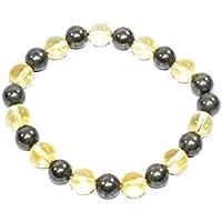 Buy 1 Get 1 Free-Bracelet Golden Pyrite + Citrine 8 MM Birthstone Handmade Healing Power Crystal Beads preisvergleich bei billige-tabletten.eu