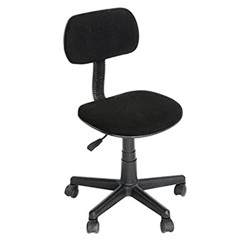 GreenForest Computer Typist Chair Seat Office Operator Rest Back Study Desk Chairs Black