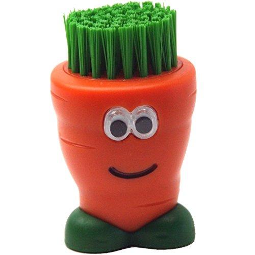 Joie Gemüsebürste Karotte, Kunststoff, Bunt, 15x10x8 cm