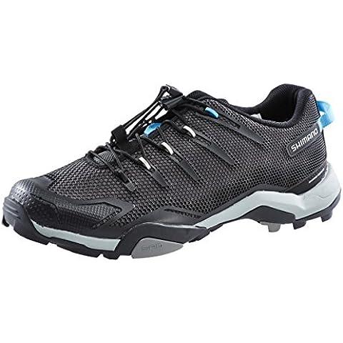 Zapatillas Shimano SH-MT44L negro para hombre Talla 44 2015 Zapatillas trekking / urbano