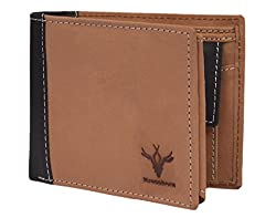 Krosshorn Tan Mens Wallet