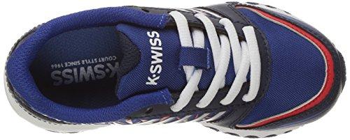 K-Swiss X-160 Maschenweite Tennisschuh Navy/Classic Blue/ Fiery Red