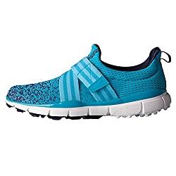 adidas Womens W Climacool Knit Eneblu/B Golf Shoe, Energy Blue, 9 M US