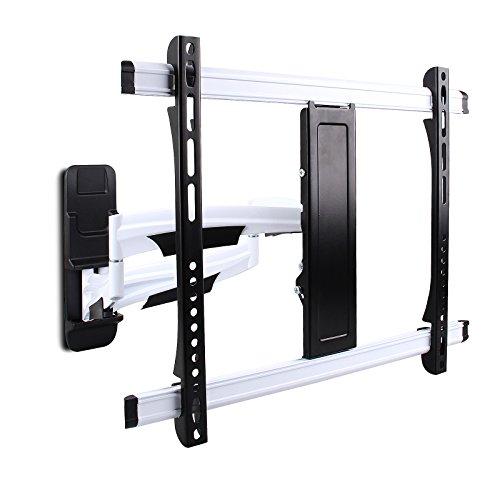 BAYTTER® Universal TV Wandhalterung schwenkbar ausziehbar drehbar und neigbar Wandhalter für LCD LED Fernseher mit 58 - 107cm für fast alle TV Hersteller, 23