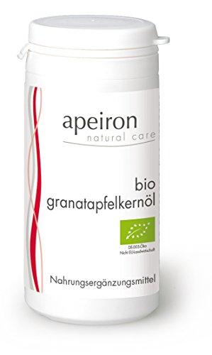 Preisvergleich Produktbild Apeiron Bio Granatapfelkernöl Kapseln 60 Stk.
