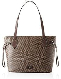 Gabor Barina, Zip shopper L para Mujer, Printed Brown