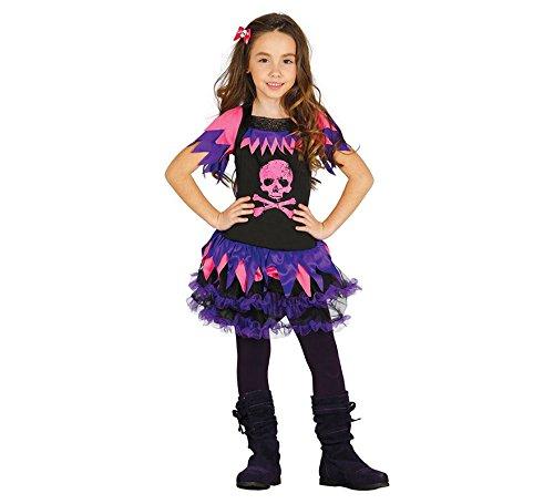 id Monster Kostüm für Mädchen Halloween High School Kinderkostüm Schülerin Halloweenkostüm Mädchenkostüm Gr. 110-146, Größe:140/146 ()