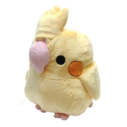 Munyu Mom Big Cushion Type Plush Doll (Cockatiel Yellow / XL size)