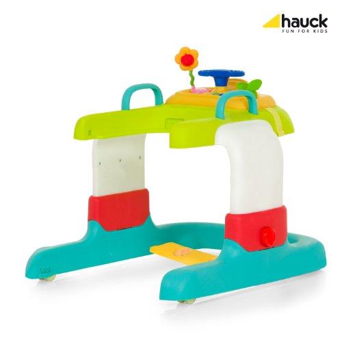 Hauck 2in1 Walker Stripe Lauflerner, Toybar, bunt, gestreifter Sitzeinhang - 3