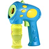 Generic Toy For Blowing Bubbles Gun Blower Machine Wand For Kids Electric Automatic Water Gun Kids Toys One Piece