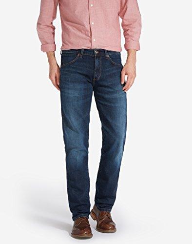 Wrangler Herren Greensboro El Camino Jeans Blau (Blue)