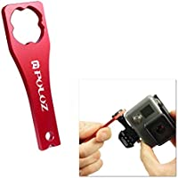 Tuff-Luv CNC Aluminum Alloy Tighten Screw Cap Wrench Tool for GoPro - Red