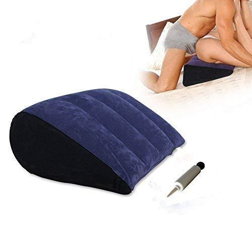 YI-LIGHT Aufblasbares Kopfkissen for Erwachsene, Reise, erstklassiges Gewicht, kaltes Gewicht, Beflockungskissen aus PVC