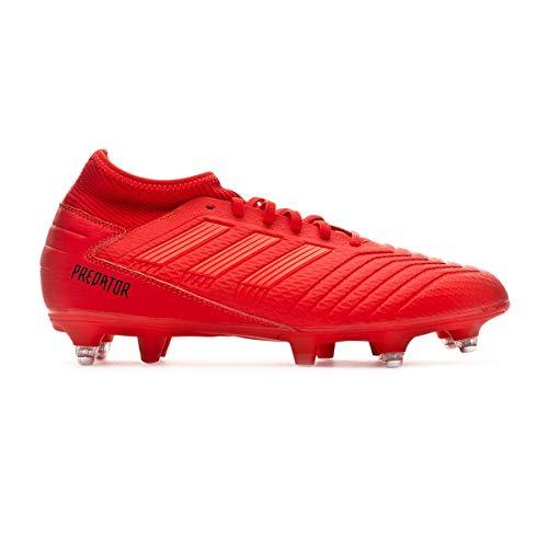8fdf47522 adidas Predator 19.3 SG, Scarpe da Calcio Uomo, Multicolore (Rojact/Rojsol/