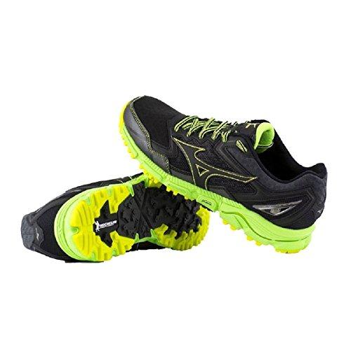 Mizuno Wave Daichi 2, Chaussures de Running Compétition Homme Vert