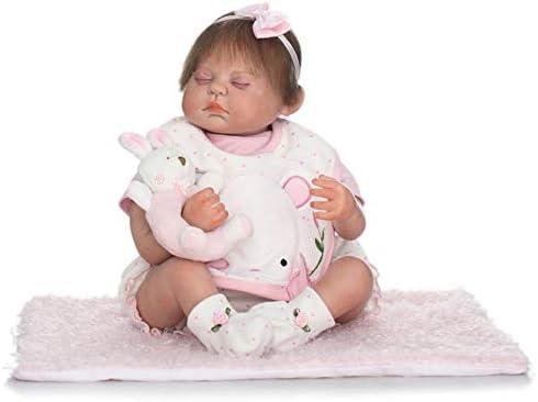 IIWOJ IIWOJ IIWOJ Reborn Baby Doll,  ly Silicone Vinyl 19,69 inch réaliste poupée de Couchage Nouveau-né-Cadeaux de la Fille, Accessoires de Photographie B07MHZL5HZ 09602a