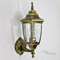 Rústico exterior lámpara de pared antiguo