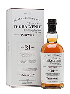 The Balvenie 21 Year Old Port Wood Finish Single Malt Whisky 70cl Bottle by William Grant & Sons Ltd