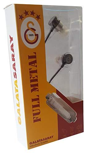 7739a1d5b2 Galatasaray Istanbul in Ear cuffie con microfono regolazione volume  Alloggiamento in Metallo Smartphone PC Notebook Tablet