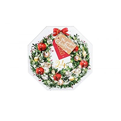 Pack Of 24 Wreath Advent Christmas Scented Tea Light Candles Gift Set from Yankee Candle