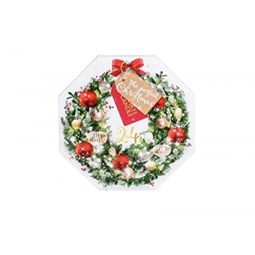 Yankee Candle - Adventskalender - Inhalt: 24 Duft-Teelichter + 1 Teelicht-Halter