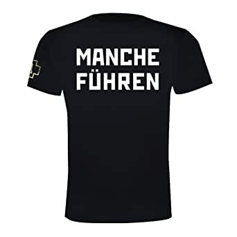 "Rammstein, T-Shirt ""MANCHE FÜHREN MANCHE FOLGEN"""