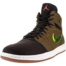 Nike Air Jordan 1 Retro High Nouv, Chaussures de Sport Homme, Blanc, Taille