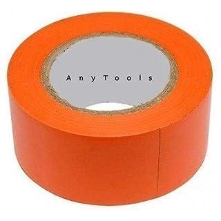 10x Klebeband PVC 50mm x 33m orange rückstandsfrei