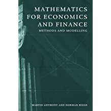 Mathematics for Economics and Finance: Methods and Modelling