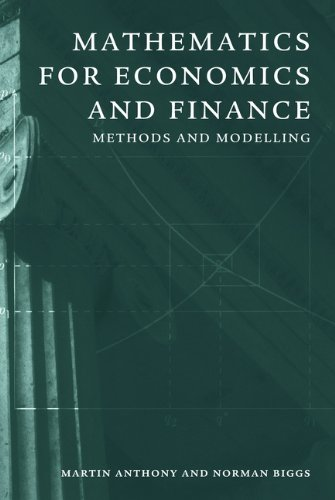 Mathematics for economics and finance methods and modelling amazon save 809 20 by choosing the kindle edition fandeluxe Gallery