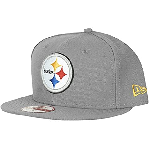 New Era 9Fifty Snapback Cap - Pittsburgh Steelers storm gris