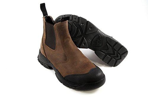 Euro-Dan Walki Sport Stiefelette con pronose e kevlar intermedia S3 SRC protezione dita, Marrone (Marrone (Braun)), 48