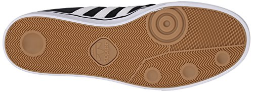 Adidas Performance Seeley Skate scarpe, cenere grigia / bianco / nero, 4 M Us Black/White/Black