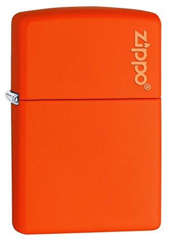 zippo-231zl-windproof-lighter-with-logo-orange-matte-regular