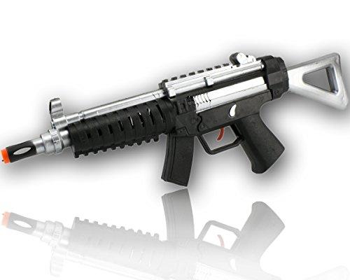 Silver Weapon XXL Rattergewehr Spielzeuggewehr Spielzeug Gewehr mit RATTER-SOUND (Spielzeug Gewehr Black Ops)