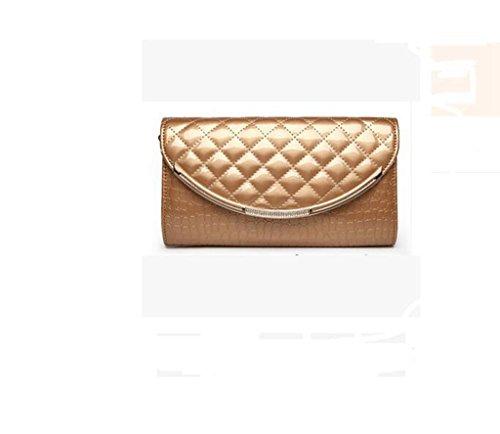 Le nuove borse, borse di modo, sacchetto di mano, Ms pacchetto, spalla Lingge catena, sacchetto del messaggero Crocodile pattern rich gold