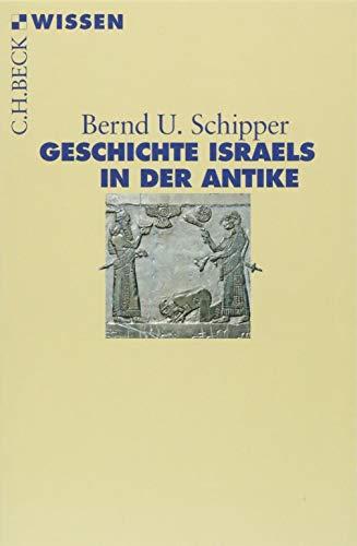 Geschichte Israels in der Antike (Beck'sche Reihe)