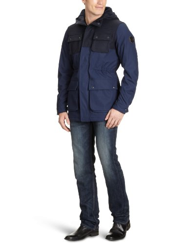 Jack & Jones - Parka - Homme Bleu (Black Navy.)