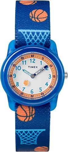 Timex TW7C16800 Jungen-Armbanduhr mit Quarz-Uhrwerk, Analoganzeige und Textil-Uhrenband. (Uhren Teenager-jungen Timex Für)