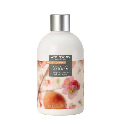 Atkinsons English Garden - Peach Flowers - Bagno Doccia Addolcente 300 Ml