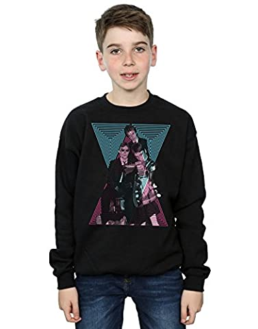 Paul Weller Jungen Sights Photo Sweatshirt 7-8 Years Schwarz