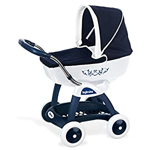 Smoby 7600251181 Baby Pram Blue Mix