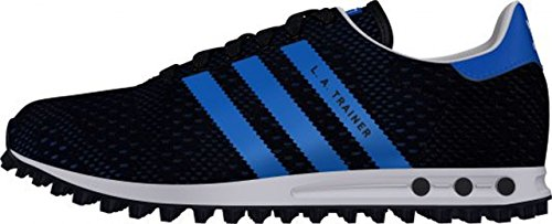 Adidas - Adidas La Trainer Em K Scarpe Sportive Tela Blu S78983 - black/blue
