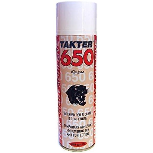 Takter 650 Spray Textil Fijador Adhesivo Para Todo Tipo De Telas Y Tejidos 500ml Amazon Es Industria Empresas Y Ciencia