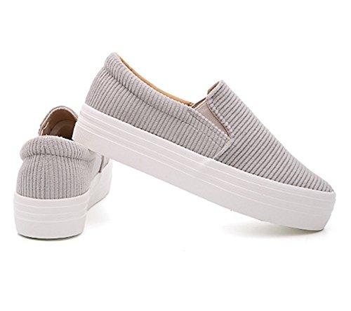 LFEU - Pantofole a Stivaletto Donna Grigio