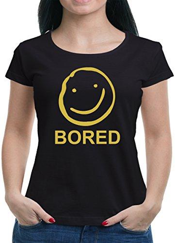 TLM Bored T-Shirt Damen XXL (Kostüme Halloween Holmes Und Watson)