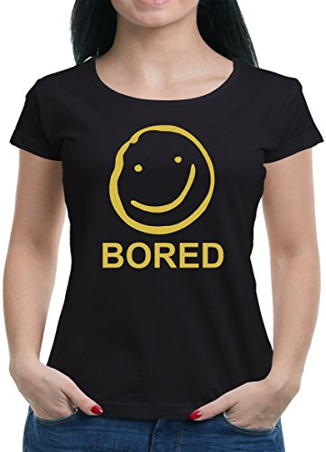 TLM Bored T-Shirt Damen XXL Schwarz