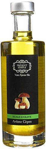 Présent Simple Huile d'Olive Aromatisée Cèpes BIO 25 cl - Lot de 2
